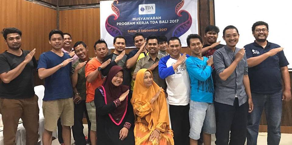 Pengurus TDA Bali 2017